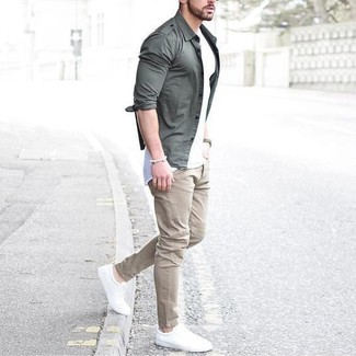 Pantalon chino beige Tommy Hilfiger