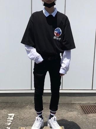 Jean noir Mavi
