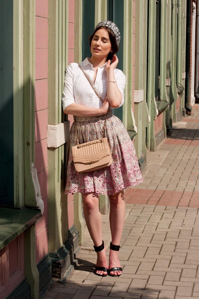 comment porter une jupe évasée rose en 2017 (21 tenues) | mode femmes