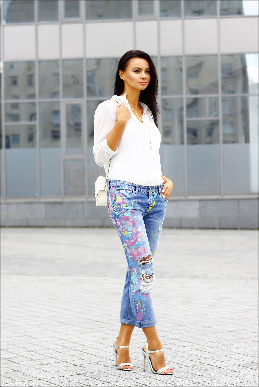 Que mettre avec un jean blanc fashion designs - Que mettre avec un jean bleu ...
