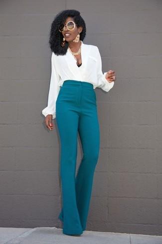 Pantalon Canard227 Femmes Comment Porter Bleu TenuesMode Un hQrCBxtsd