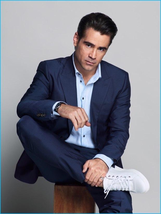 Très Comment porter des baskets basses blanches avec un costume bleu  LA76