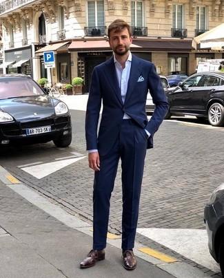 Comment porter un costume bleu marine (476 tenues)  4337854f010