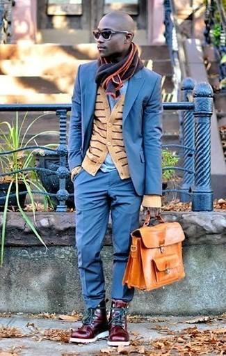 Écharpe noire Gucci