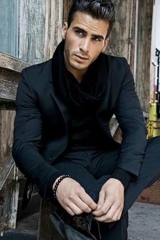 Chemise à manches longues noire Volcom