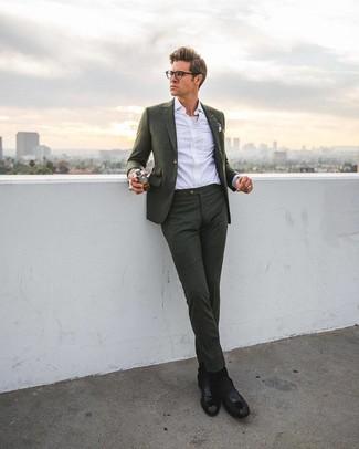acheter pas cher attrayant et durable magasiner pour véritable Comment porter des bottines chelsea avec un costume (68 ...