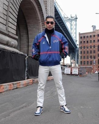 Pull bleu marine Karl Lagerfeld