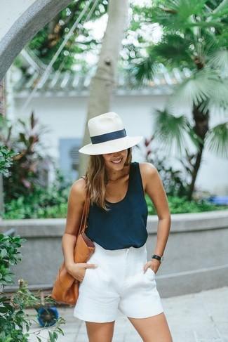 Short blanc Martha Medeiros