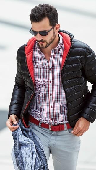 Mode hommes › Mode hommes années 30 Tenue  Doudoune noire e74a4ca607f