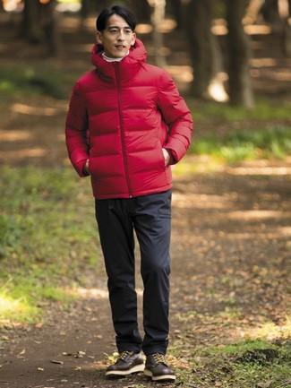 Comment porter une veste rouge homme
