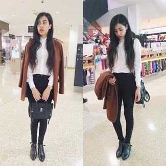 Comment Noir Pantalon Mode Un Tenues Slim 673 Femmes Porter prqpv7