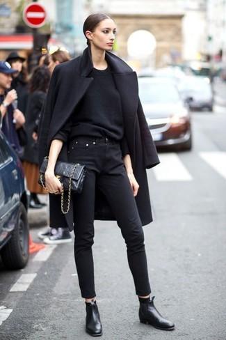 Manteau noir Liska