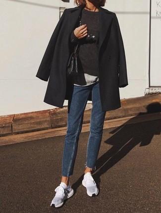 Manteau noir Only
