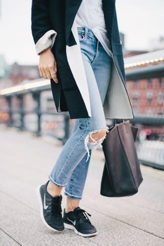 Manteau noir Cinque