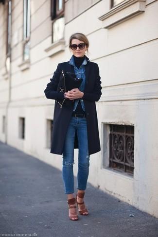 Veste en jean bleue Vero Moda