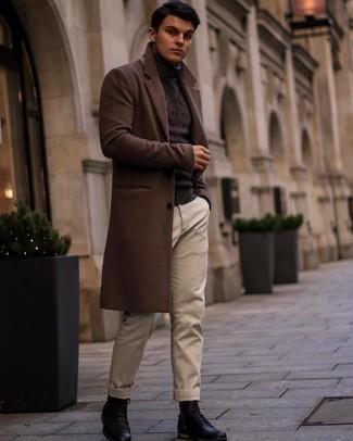 Manteau marron foncé Pepe Jeans