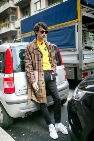 Pull jaune Luis Trenker