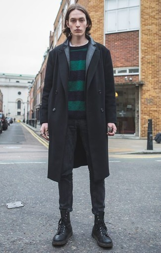 Manteau noir Aigle
