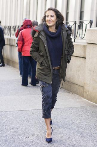 Comment Femmes Un 31 Tenues Porter Mode Pantalon Cargo wHqURw