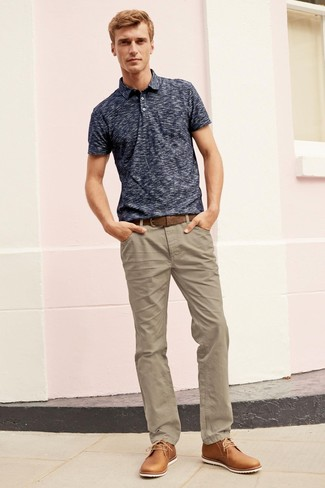 Pantalon chino marron clair Dockers