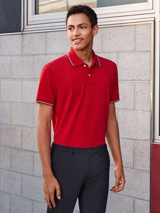 38977d08ebf Tenue  Polo rouge