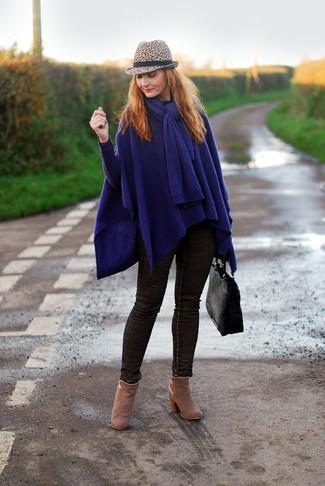 Comment porter un jean marron foncé (16 tenues)   Mode