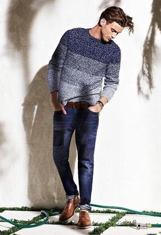 Jean bleu marine Tom Tailor