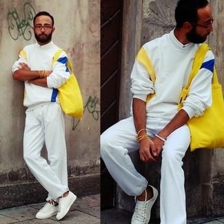 Chemise de ville blanche Alessandro Gherardi
