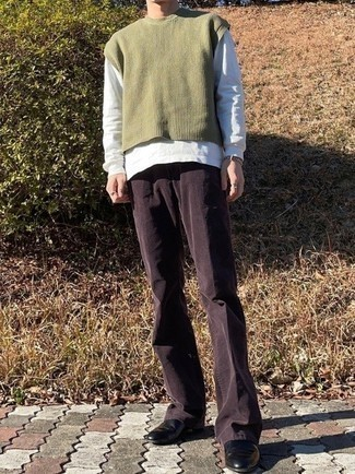Pull olive Calvin Klein Jeans