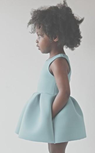 Comment porter: robe vert menthe