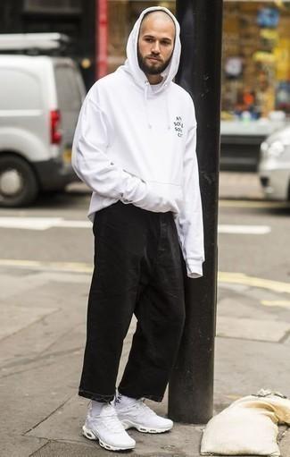 Chaussettes imprimées blanches et noires ASOS DESIGN