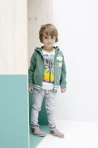 Comment porter un jean gris: