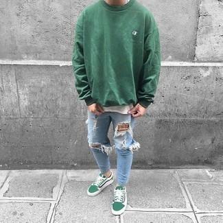 Pull vert Maerz