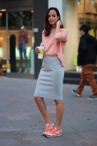 Chaussures de sport roses Calvin Klein 205W39nyc
