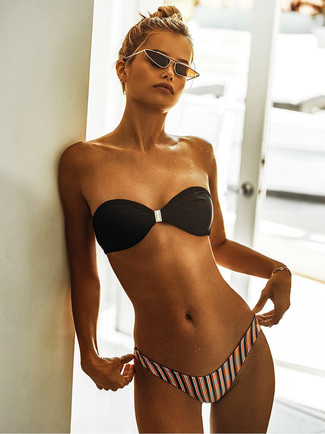Bas de bikini multicolore Mara Hoffman