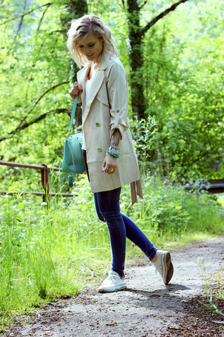 Trench beige In Wear