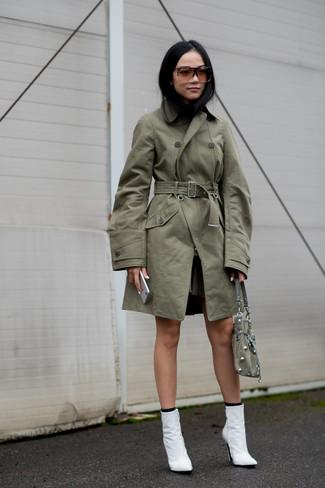 Trench olive Holland & Holland