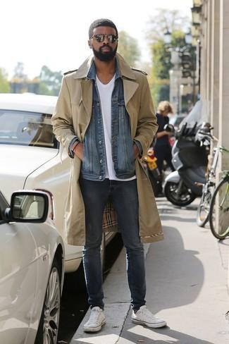 Veste en jean bleu Carrera