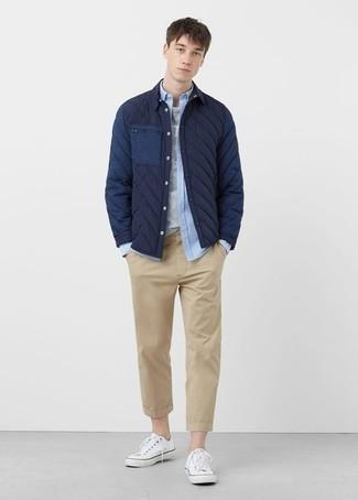 Pantalon chino marron clair Jack & Jones