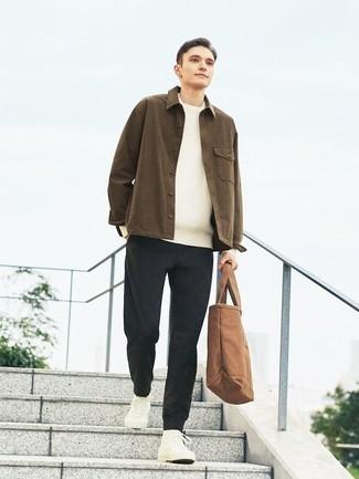Pull blanc Calvin Klein Jeans