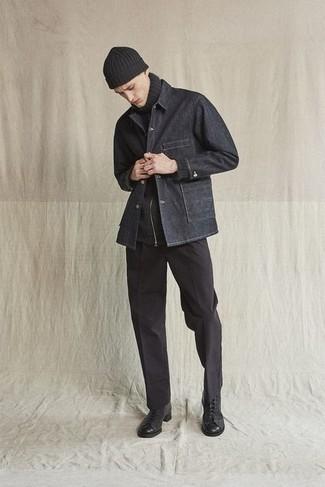Pull noir Gant