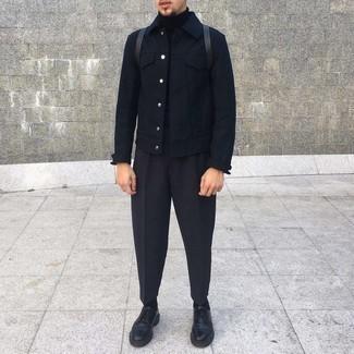 Veste noire Tommy Hilfiger