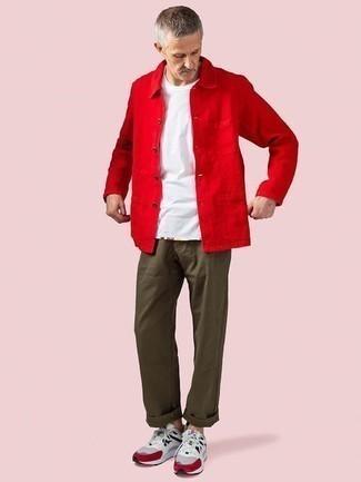 Veste rouge Boss Orange