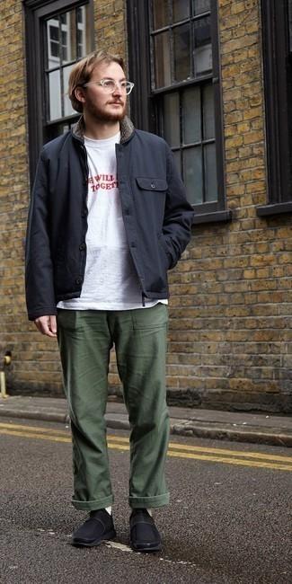 Veste-chemise noire Lanvin