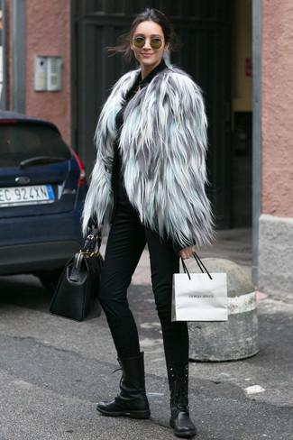 Veste grise classe femme
