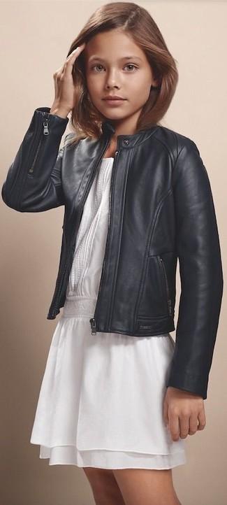 Comment porter une veste en cuir noire: