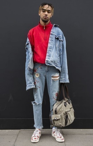 Pull rouge SPRINGFIELD
