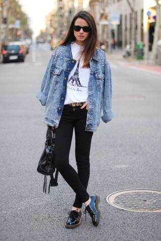 Avec quoi porter une veste en jean claire