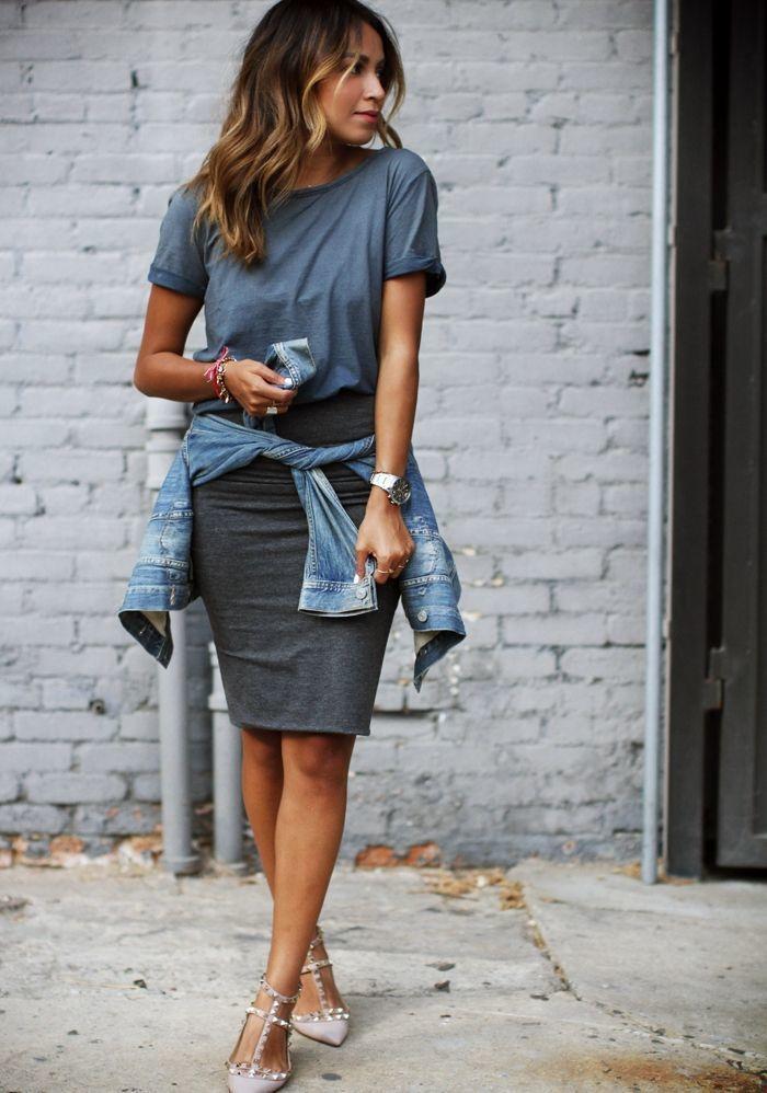 Comment porter une veste grise