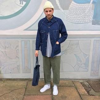 Veste en jean bleu marine Levi's